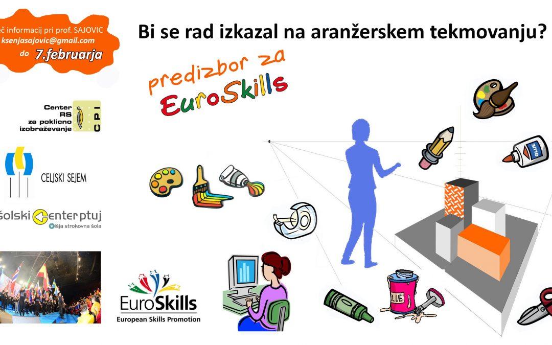 Predizbor za EuroSkills za aranžerje